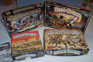 Boxes for the 'Quest' Games