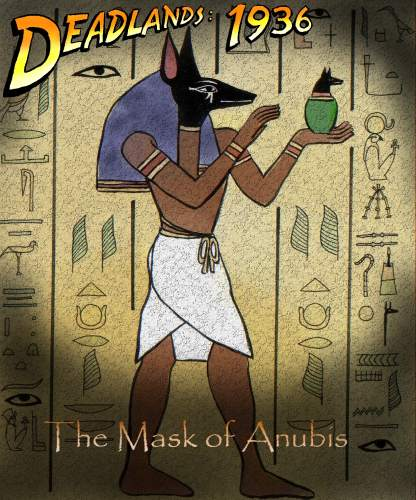 "The Mask of Anubis"" - Poster"