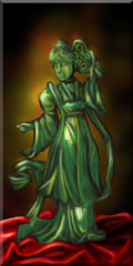 Treasure - Jade Statue, Lady Courtier