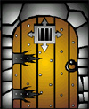 Dungeon Door (Color)