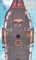 Sloop Ship Deck Floor Tiles