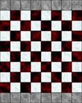 Chess Board Floor Tile